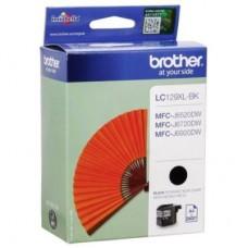 BROTHER LC129XLBK melnas tintes kasete 2400 izdrukām, 50.0 ml