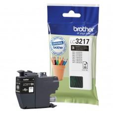 BROTHER LC3217BK melna tintes kasete 550 izdrukām