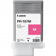 Canon PFI-107M sarkanās tintes kasete, 130 ml