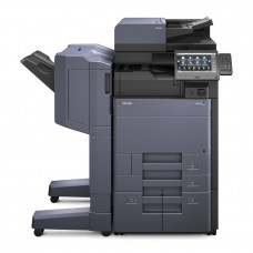 Kyocera TASKalfa 5003i, melnbalta daudzfunkciju drukas iekārta A4/A3 formāta ar dokumentu padevēju DP-7100 un metāla paliktni CB-7110M