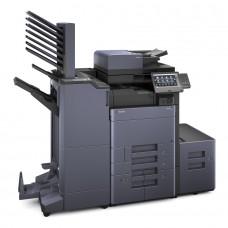 Kyocera TASKalfa 6003i melnbalta daudzfunkciju drukas iekārta, A3 formāts ar dokumentu padevēju DP-7100 un metāla paliktni CB-7110M